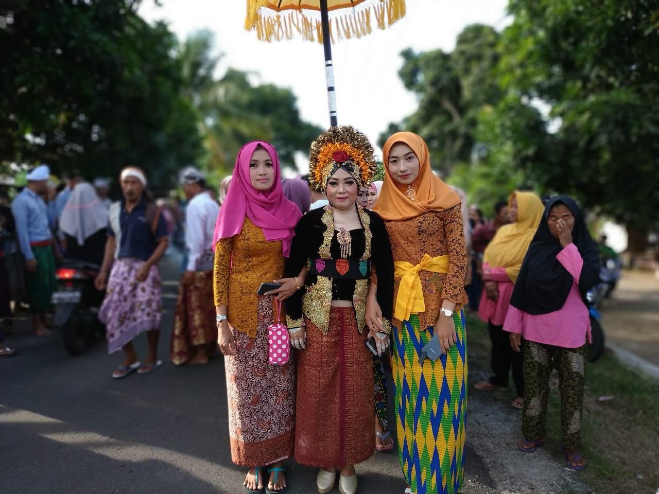 Matek Api, Ritual Pernikahan Unik di Lombok