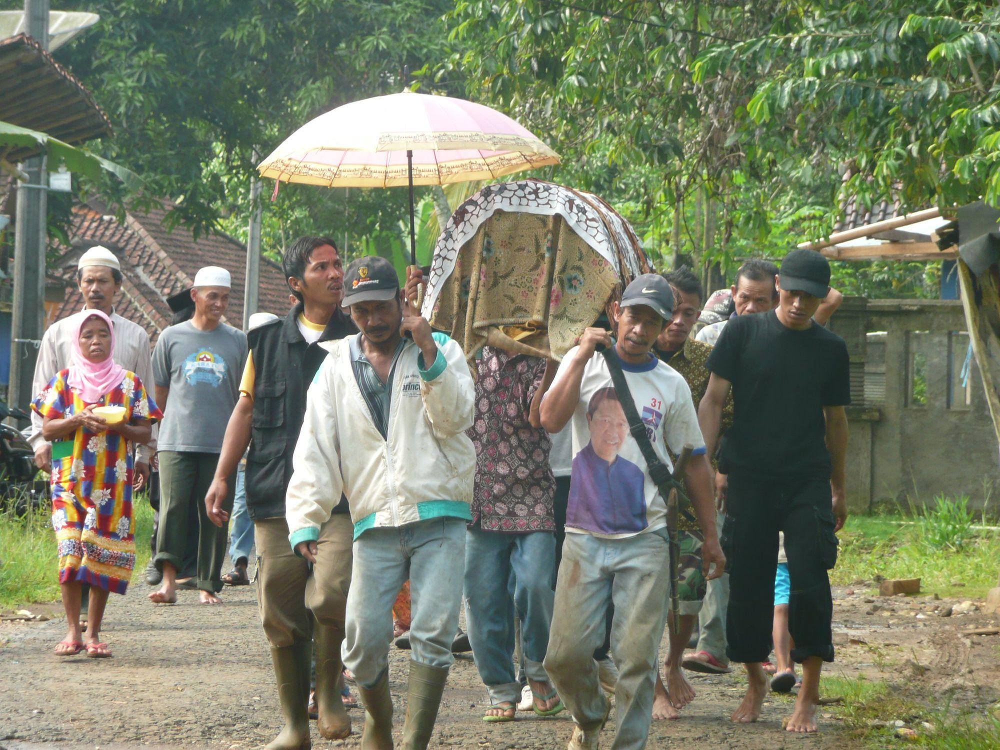 Brobosan dalam Upacara Kematian di Jawa