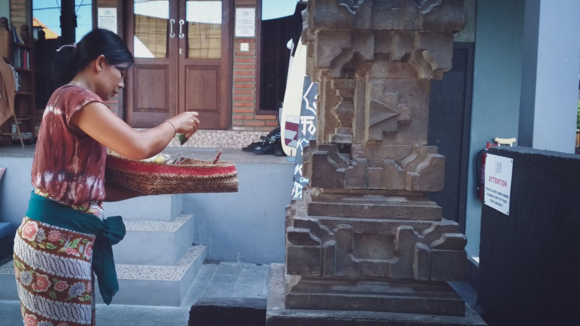 Canang dalam Rutinitas Orang Bali