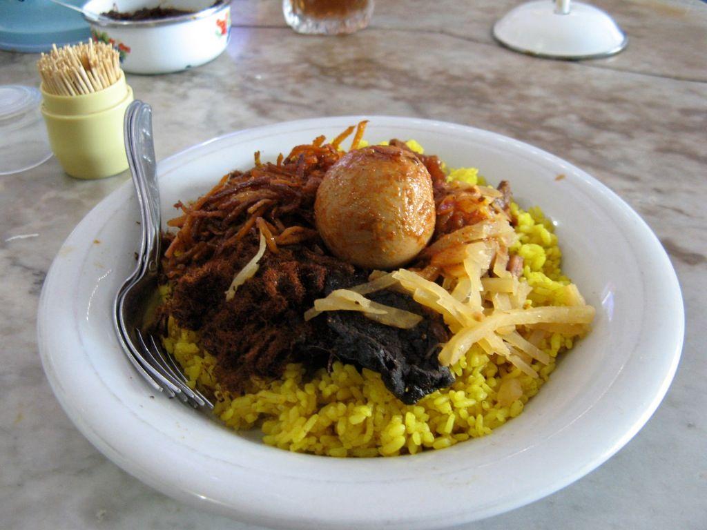 Dua Bagian Penting dari Nasi Kuning