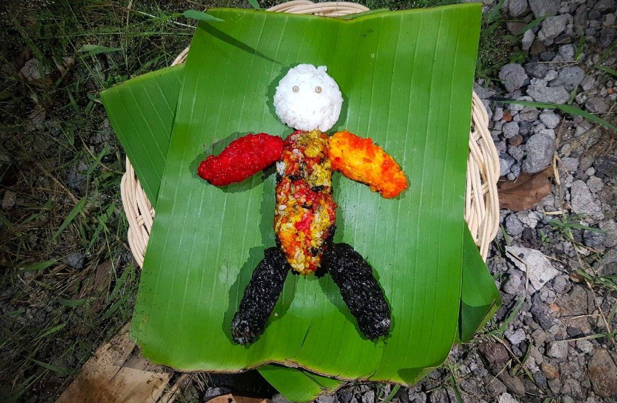 Segehan Wong-wongan Bali dalam Ritual Adat Penolak Bala