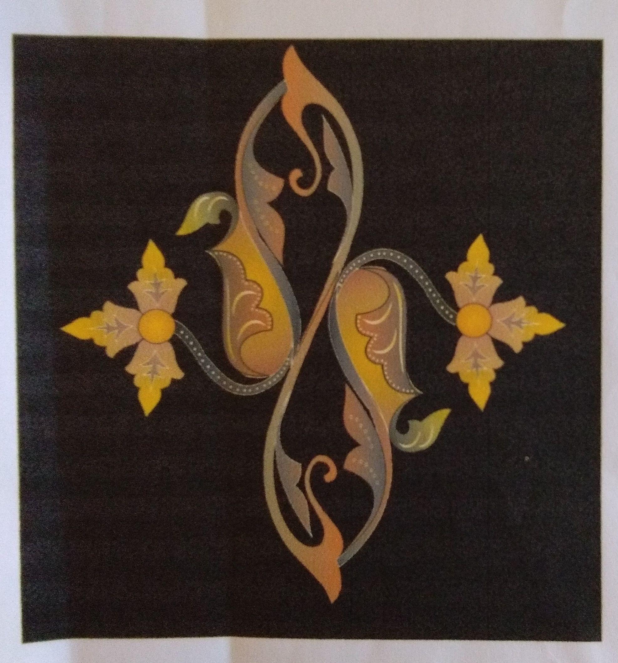Inspirasi Motif Batik Batam: dari Siput Gonggong hingga Bunga Hutan