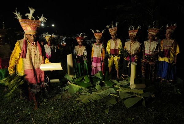 Tarian Balia, Ritual Penyembuh Gangguan Jin dari Suku Kaili